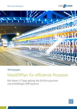 MastERPlan für effiziente Prozesse